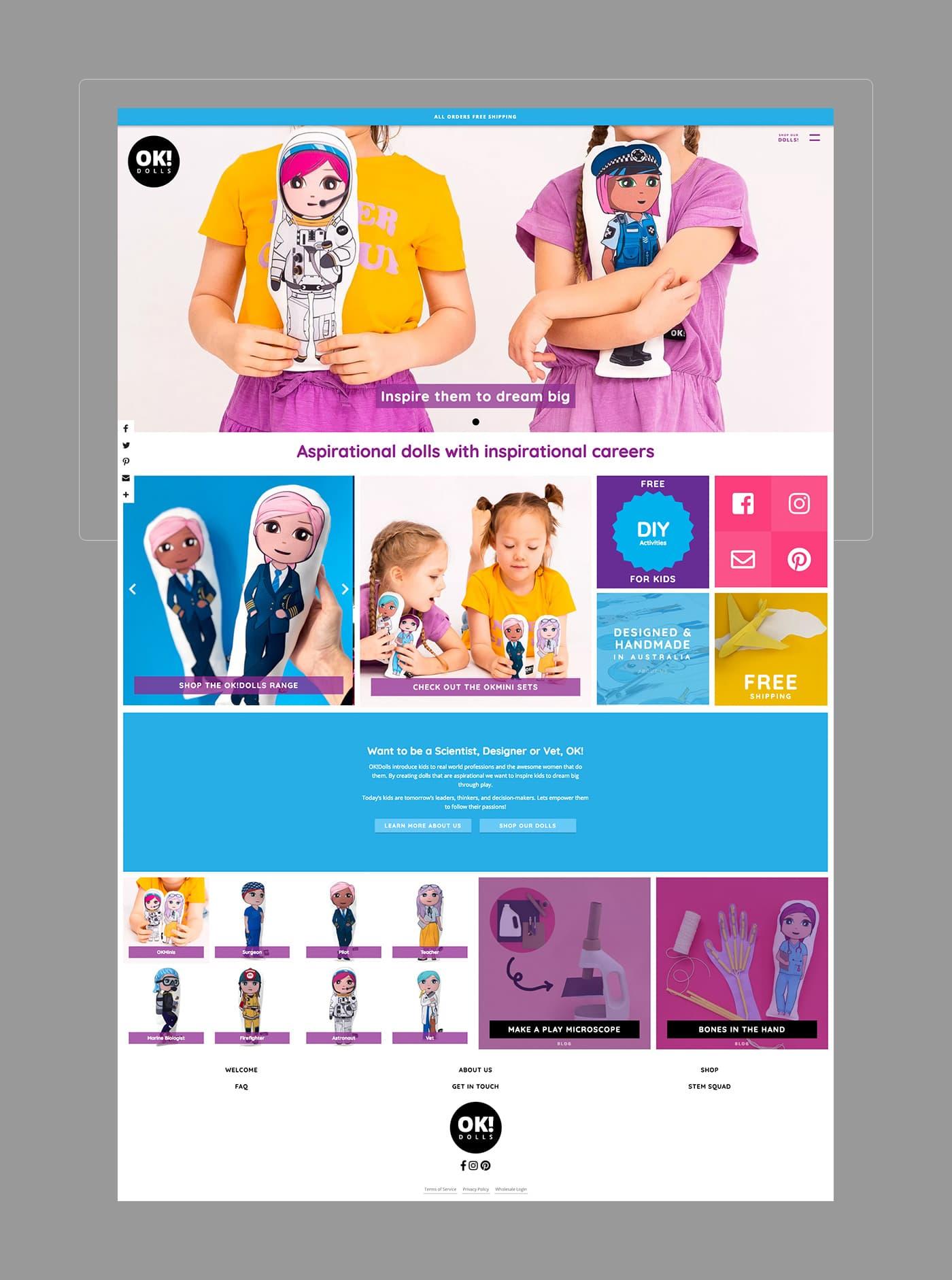 OK!Dolls Desktop