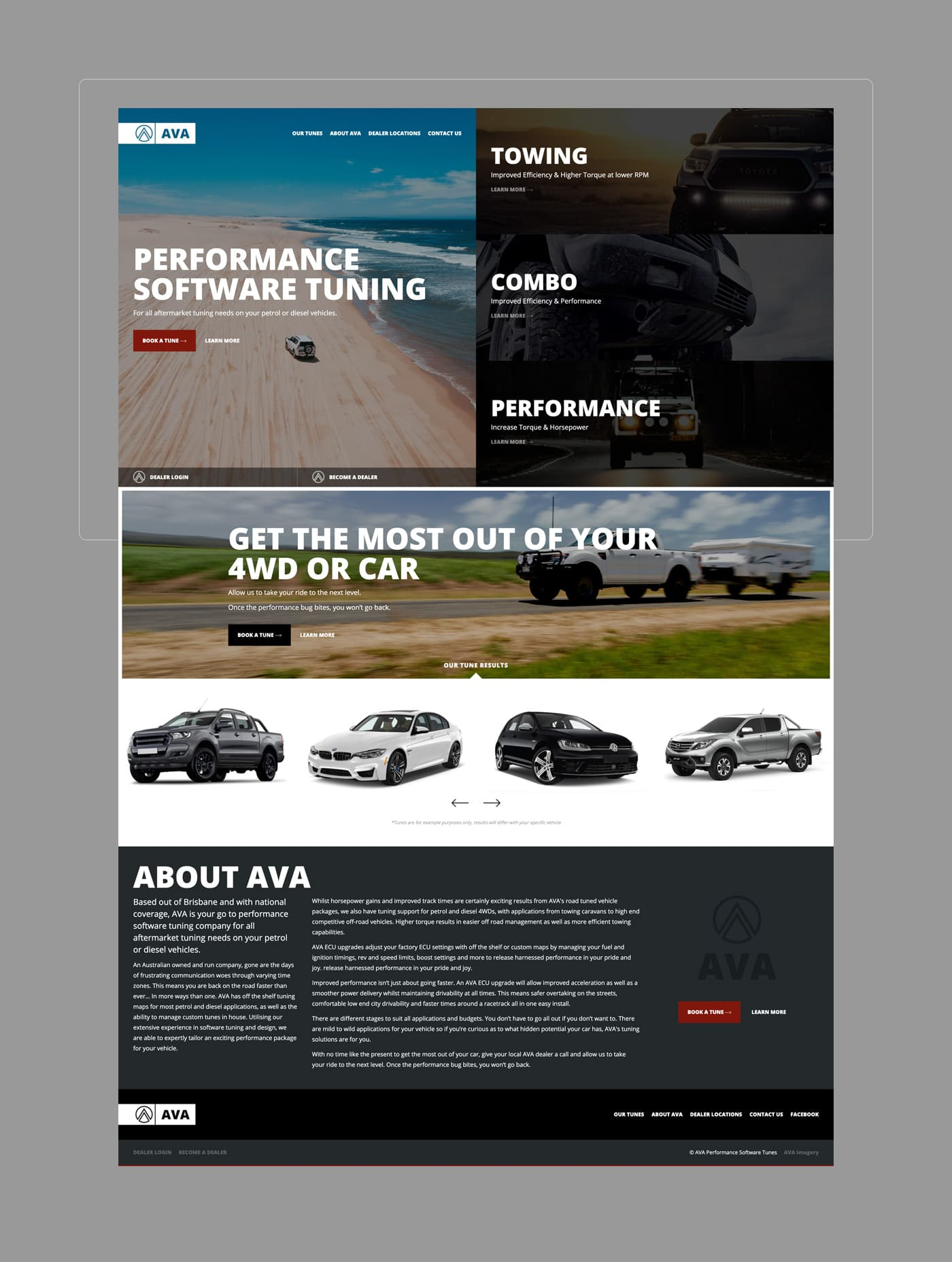 AVA Performance Software Tuning - Homepage
