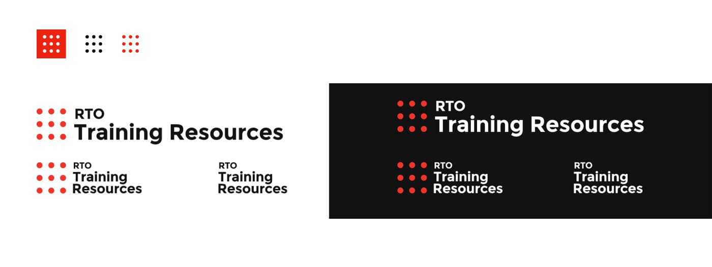 RTO Training Resources - Logo design