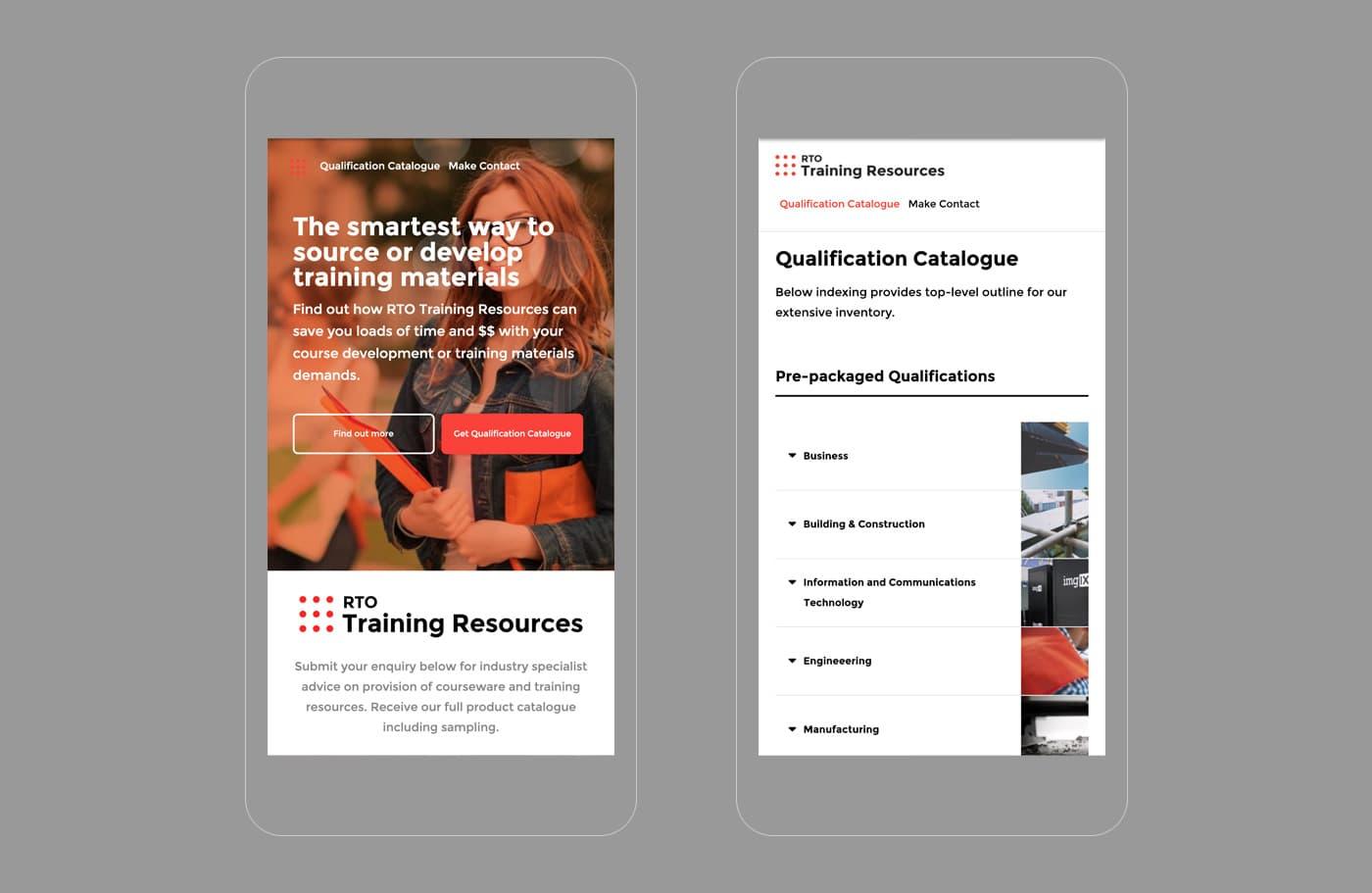 RTO Training Resources - Mobile